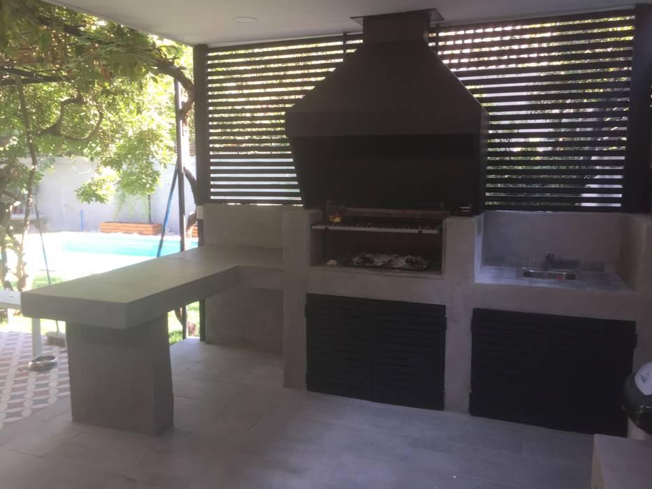 Quincho, Terraza y Piscina por ARQSOL de Arqsol Moderno