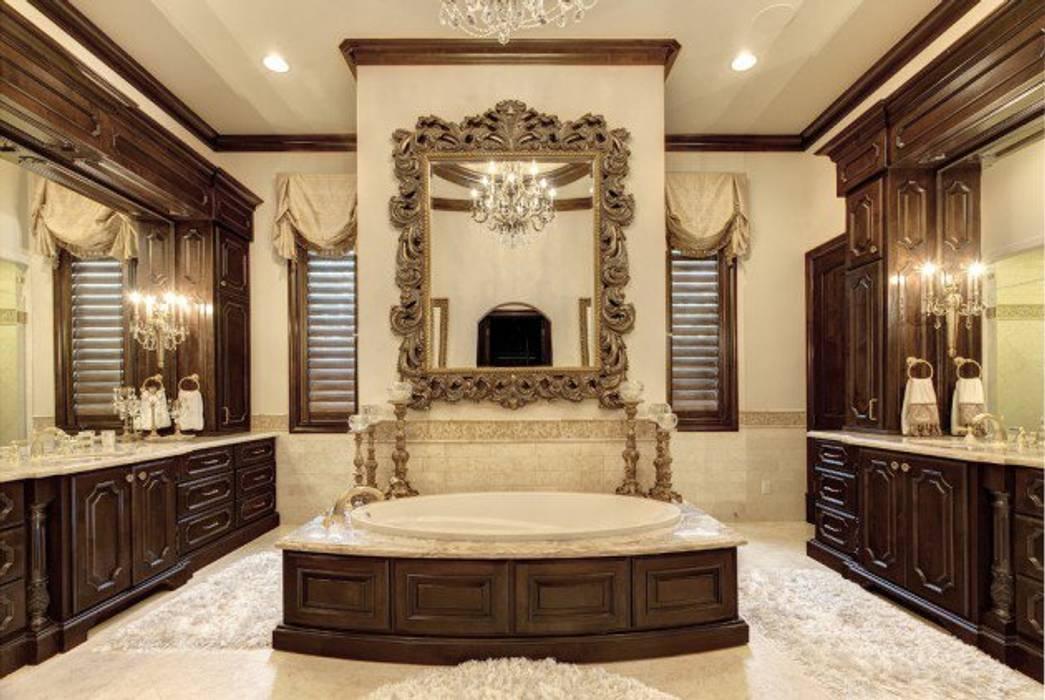 Mediterranean Bathroom Design: Mediterranean Bathroom: Bathroom By Subramanian- Homify