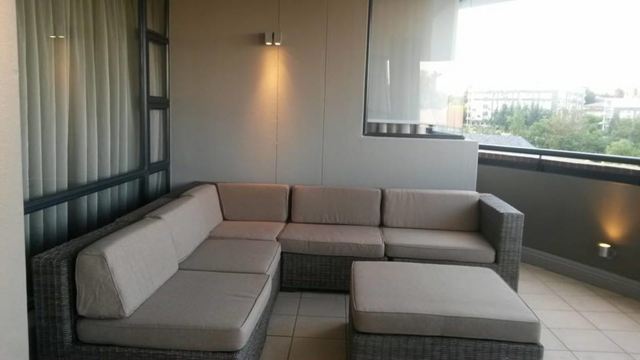 Sandton Style Penthouse Living:  Patios by CKW Lifestyle