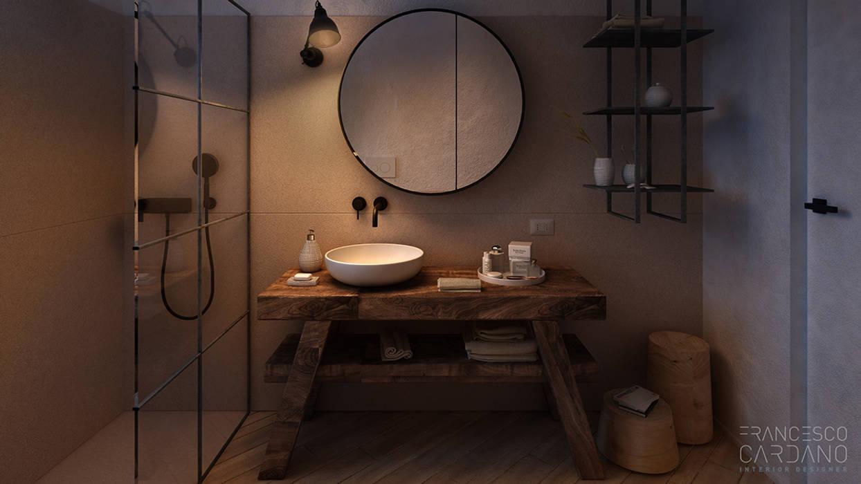 Anto Apartment: Bagno in stile  di FRANCESCO CARDANO Interior designer,