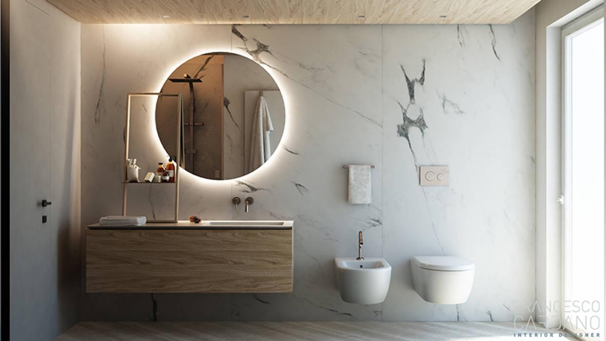 Baños de estilo industrial de FRANCESCO CARDANO Interior designer Industrial