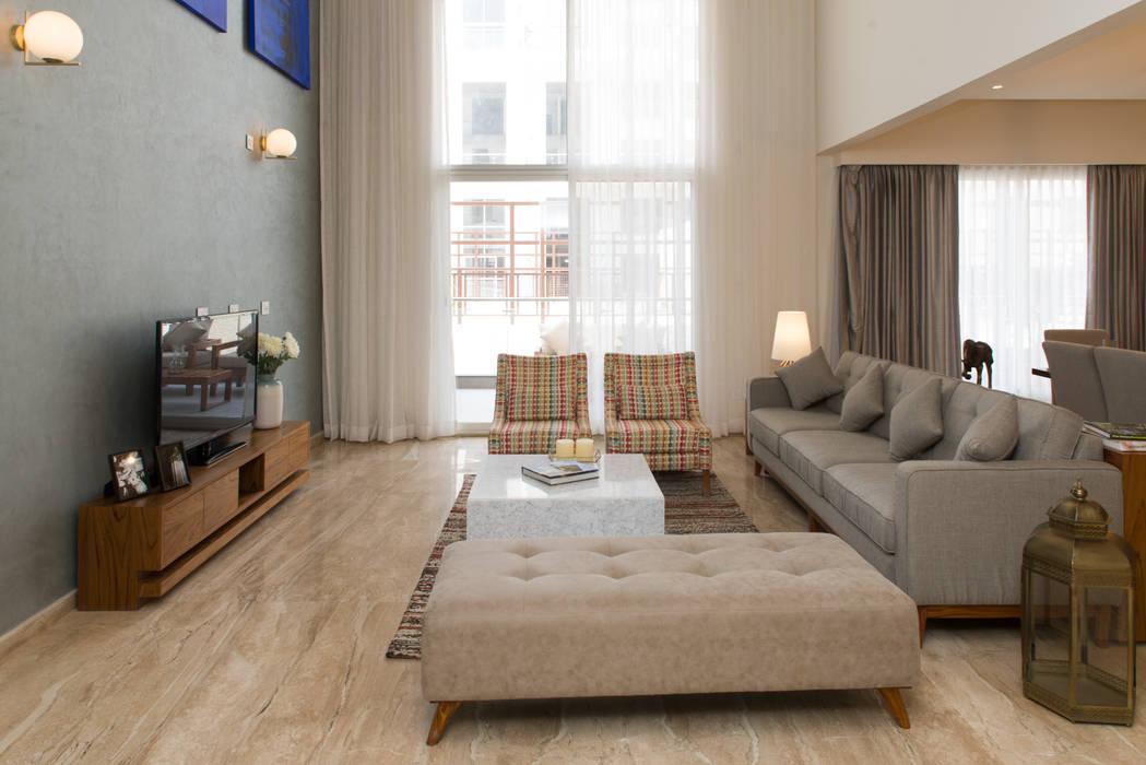 Salon moderne par Atom Interiors Moderne