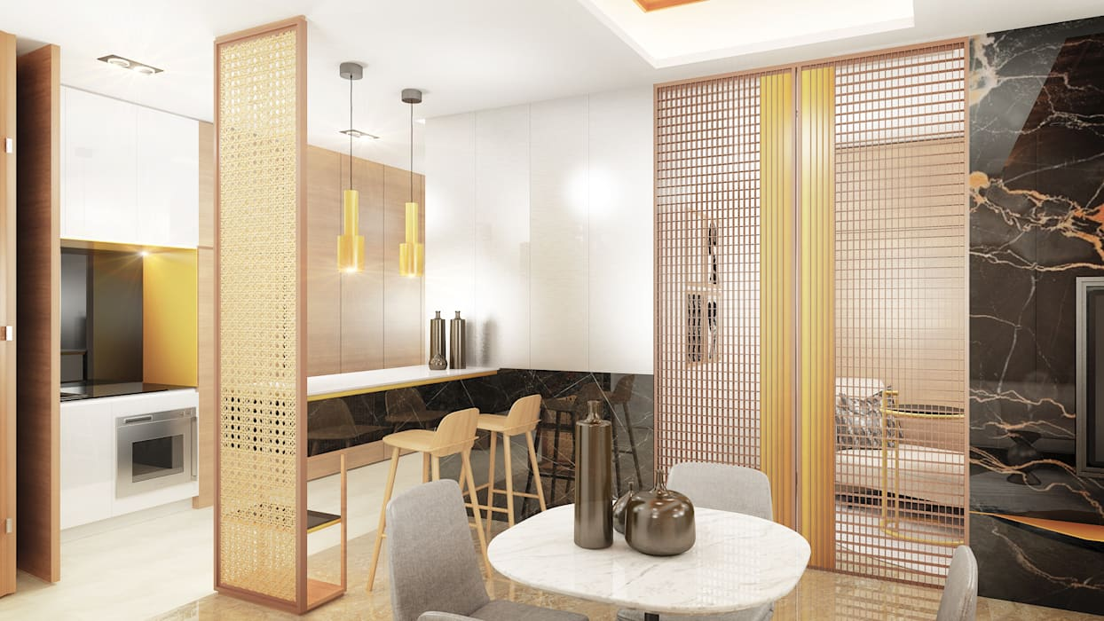 Kitchen: Dapur oleh Co+in Collaborative Lab,