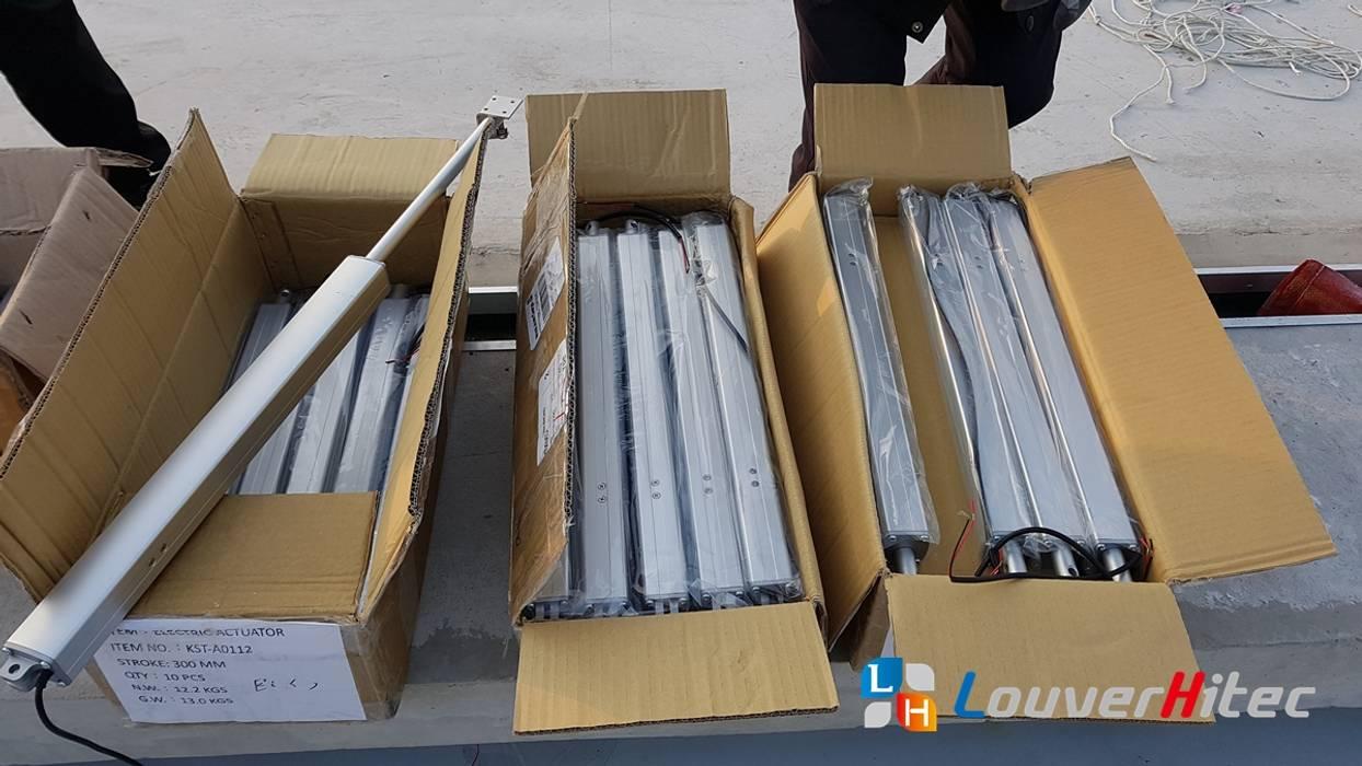 採用 KST-A01 系列馬達內藏式電動推桿 根據 Soon Industrial Co., Ltd. 現代風 金屬