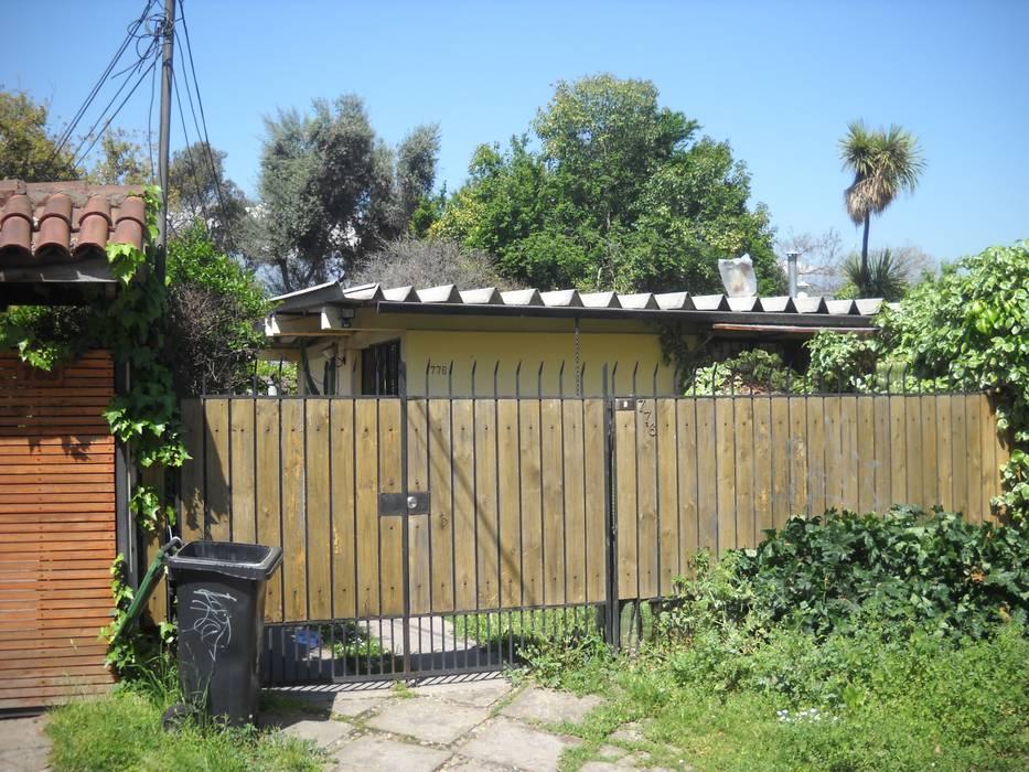 Fachada Antigua: Casas unifamiliares de estilo  por DIEGO ALARCÓN & MANUEL RUBIO ARQUITECTOS LIMITADA