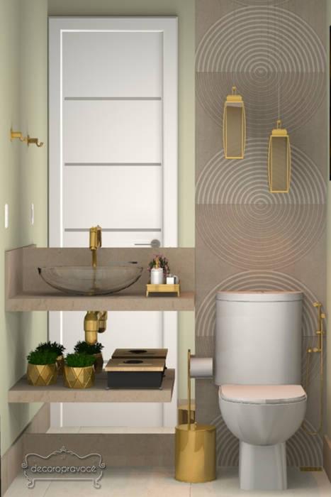 Modern bathroom by Decoropravocê - Decoração ao seu alcance. Modern