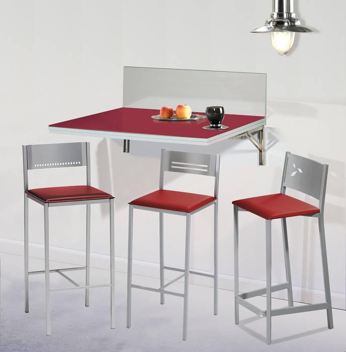 Mesa de cocina de pared abatible: de estilo de dekogar ...