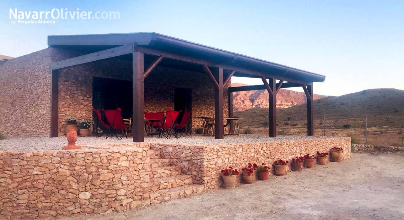 Terraza Para Casa Rural Balcones Y Terrazas De Estilo Rural