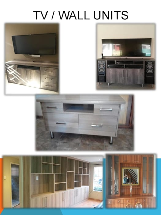 TV UNITS:  Media room by SCD Kitchens