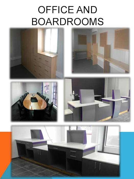 Offices:  Study/office by SCD Kitchens