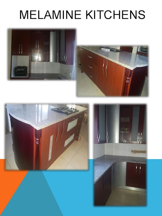 Melamine kitchen Modern kitchen by SCD Group Modern