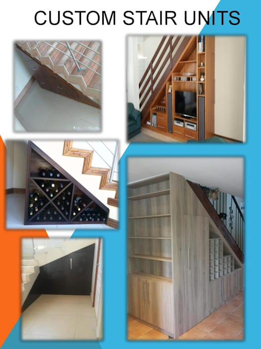 Stair storage:  Stairs by SCD Kitchens