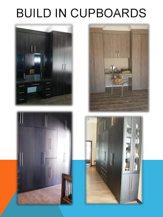 Build in cupboards Modern style bedroom by SCD Group Modern