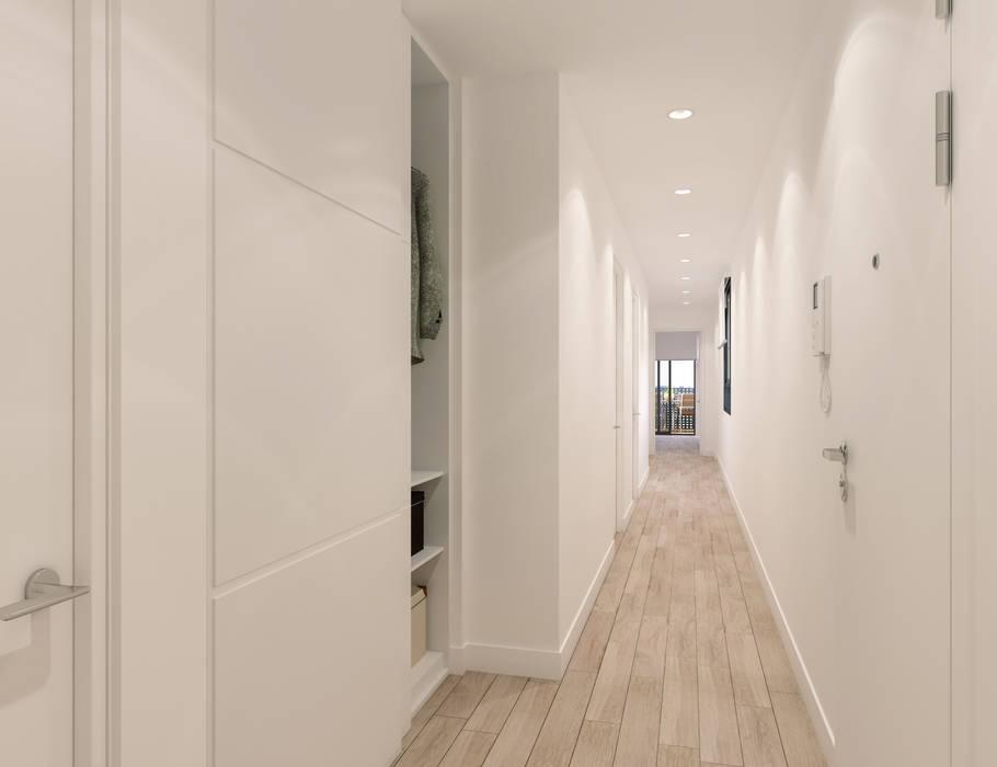 A3D INFOGRAFIA Corridor, hallway & stairs Storage