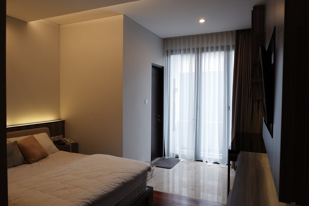 Modern style bedroom by Exxo interior Modern Plywood
