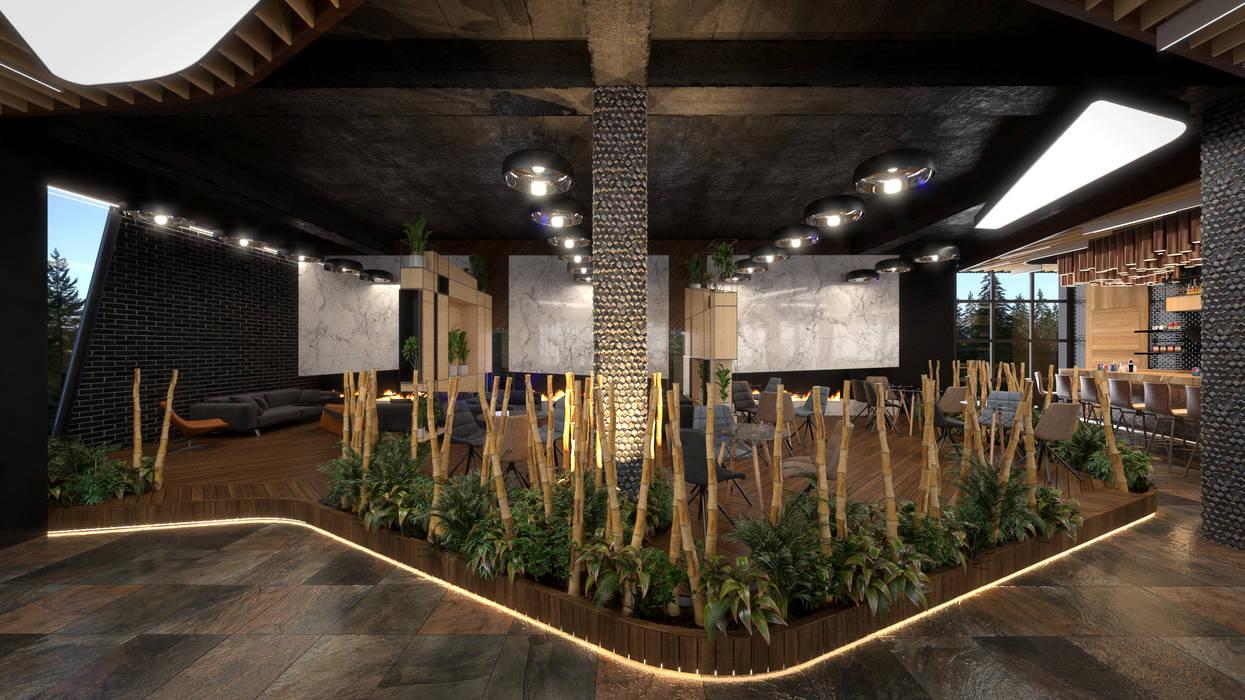 Dündar Design - Mimari Görselleştirme Comedores de estilo moderno