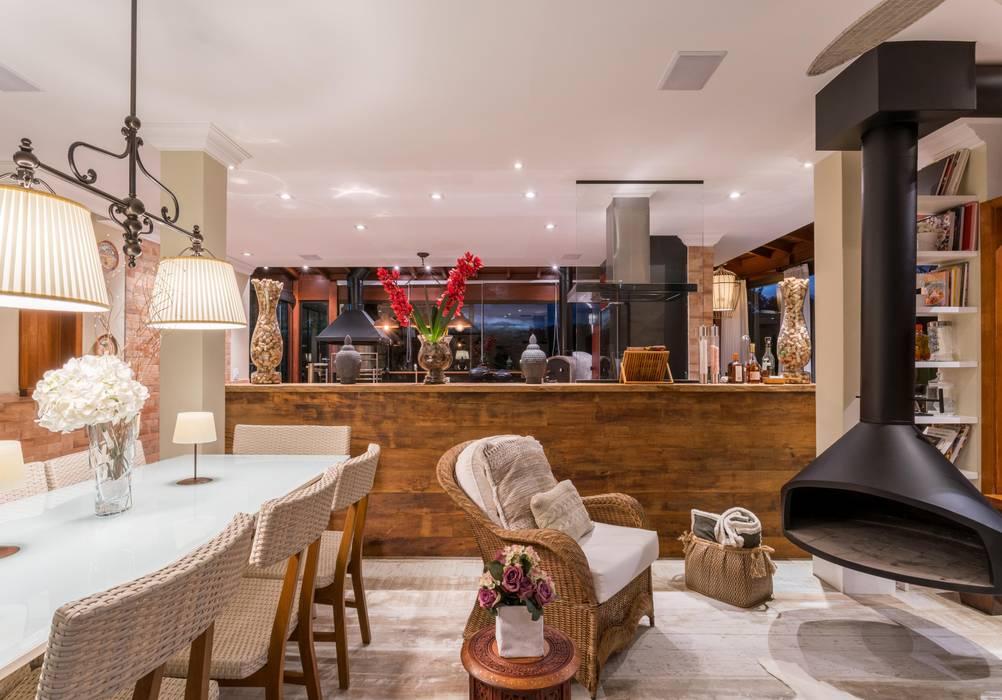 Paisagem Agridoce Studio Ideação Salas de estar campestres