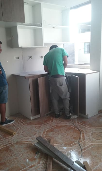 Fabricación muebles de cocina cocinas de estilo clásico de ...