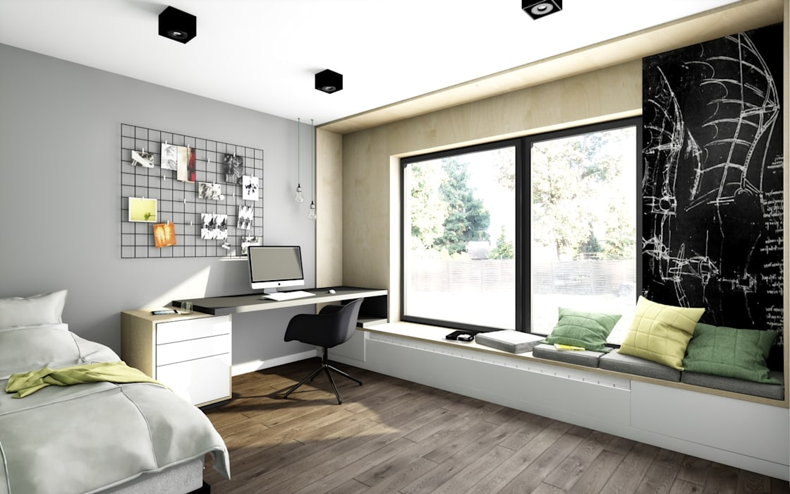 Offa Studio Scandinavian style nursery/kids room