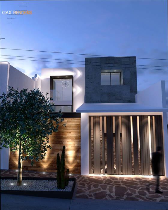 Remo Espinela Fachada homify Casas modernas