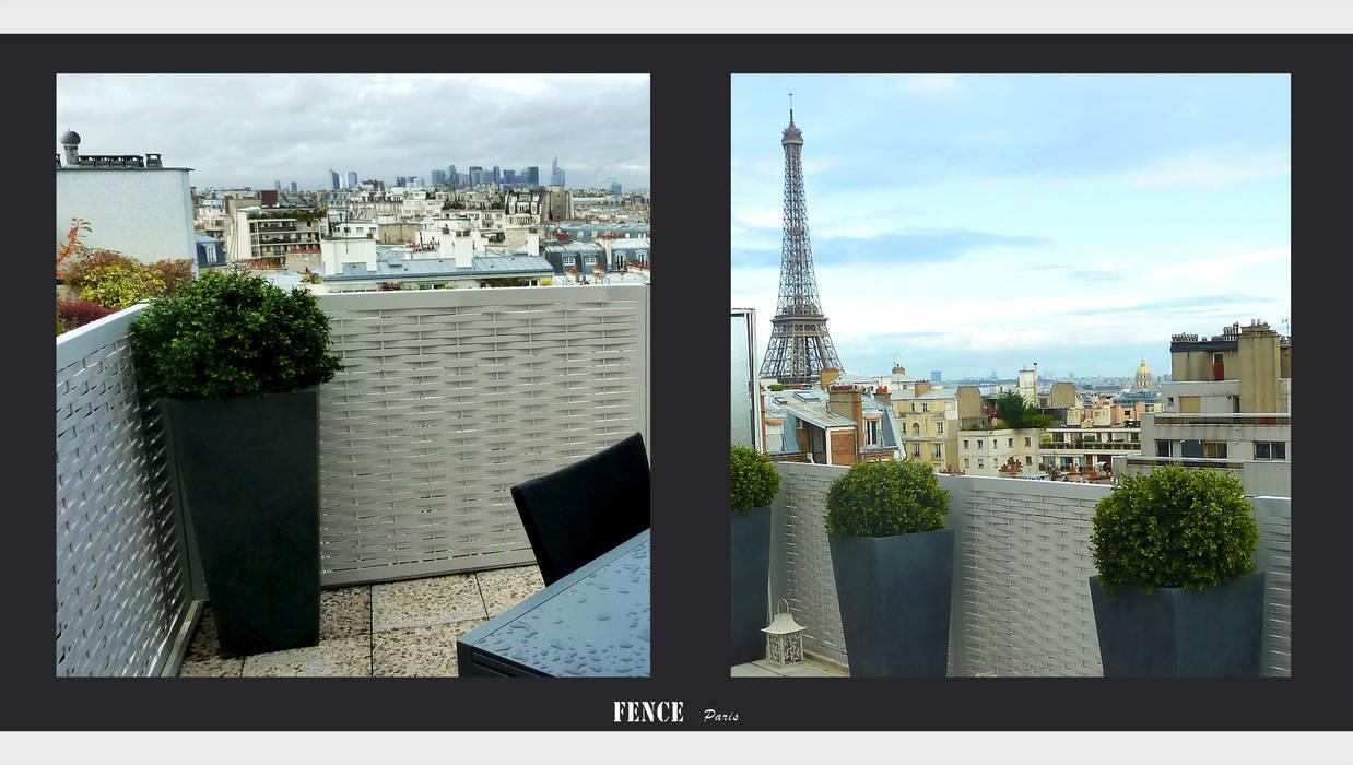 Fence Paris Balconies, verandas & terraces Accessories & decoration