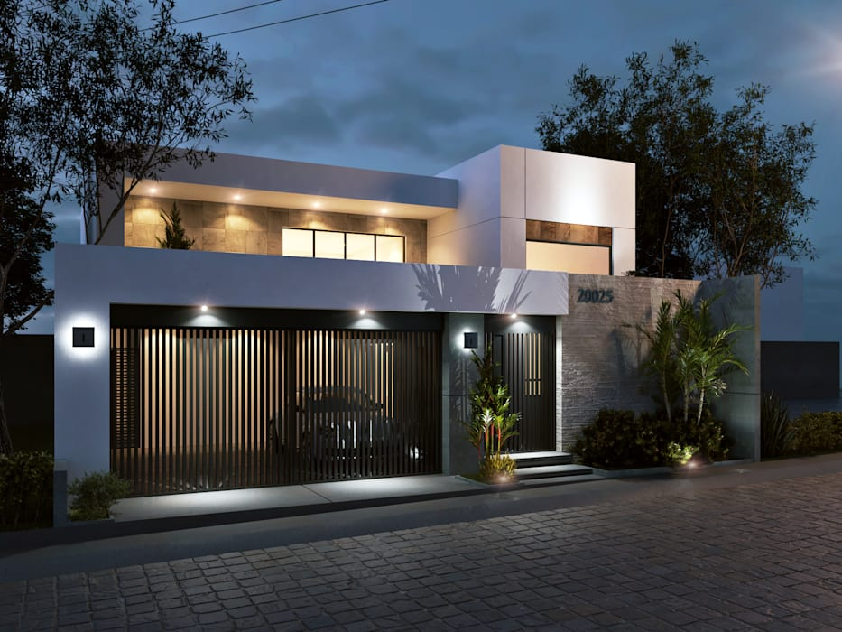 Minimalist houses by CODIAN CONSTRUCTORA Minimalist