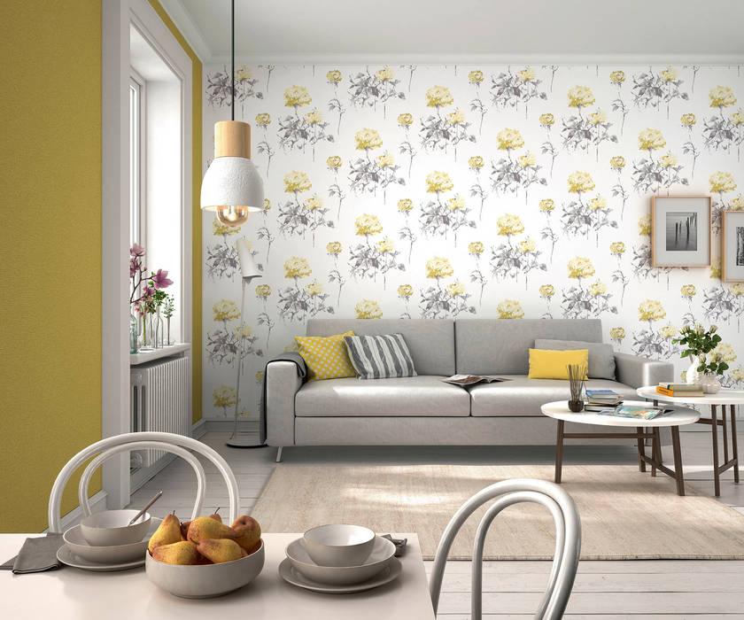 HannaHome Dekorasyon  – İskandinav stilini duvarlarınıza yansıtın!:  tarz Duvar & Zemin
