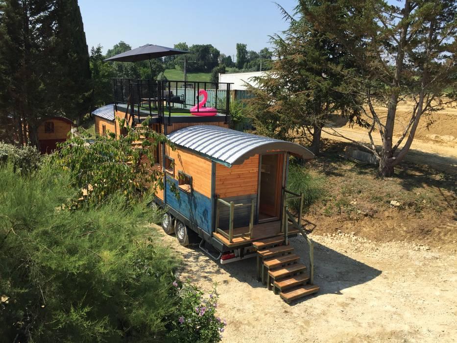 Maison Nomade par Jardin boheme Moderne