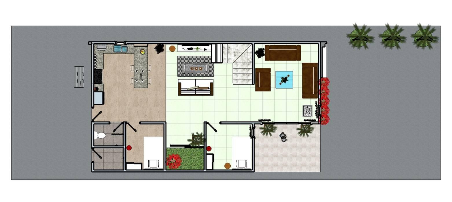 Private House : Lantai oleh MODE KARYA,