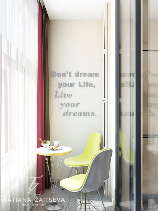 DM SkyLand: styl , w kategorii Okna zaprojektowany przez Design studio TZinterior group,Nowoczesny