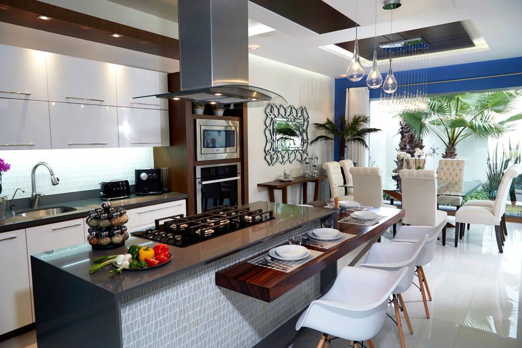 Cuisine moderne par arketipo-taller de arquitectura Moderne