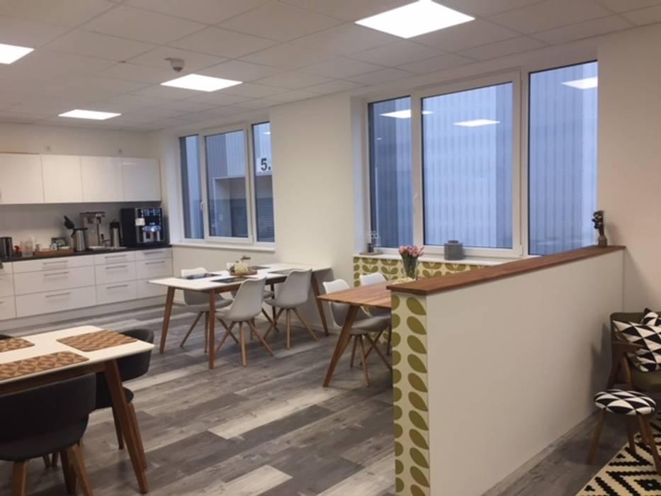 Interieur design sozialraum: bürogebäude von stilholz pioch ...