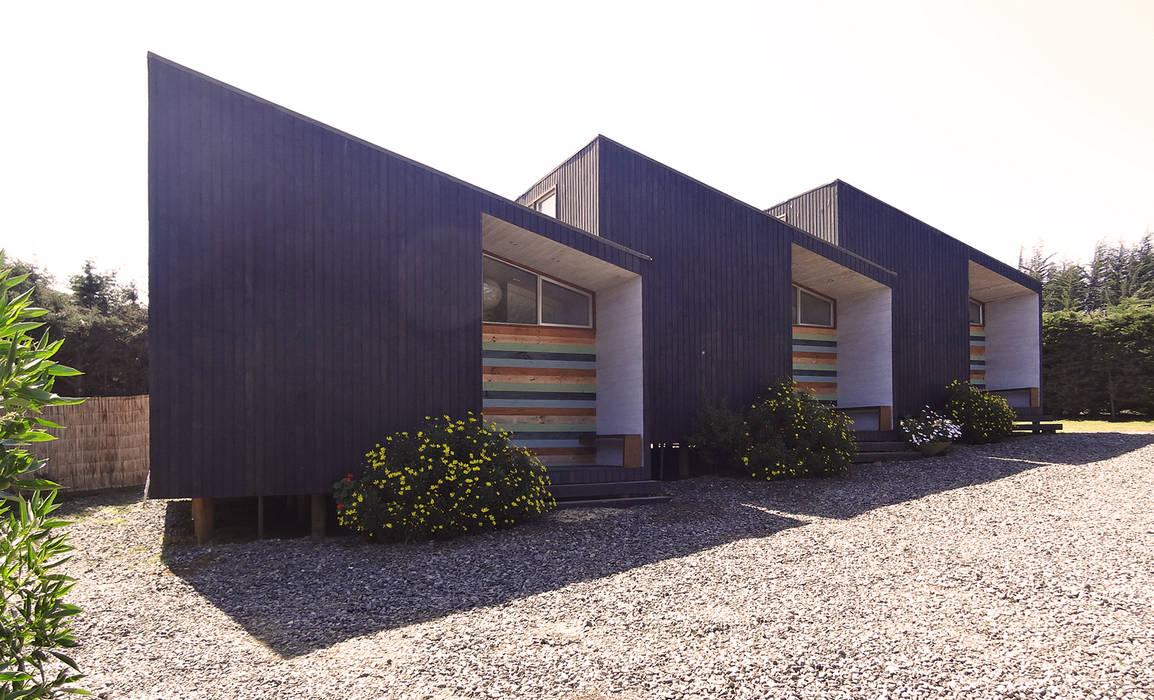 von m2 estudio arquitectos - Santiago Skandinavisch Holz Holznachbildung