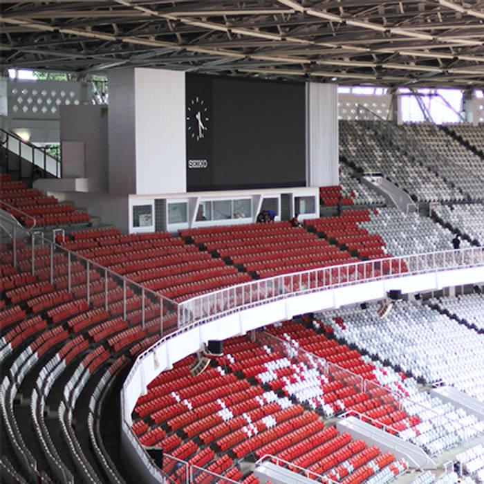 foto kursi penonton gbk Stadion Modern Oleh PT. Datra Internusa Modern