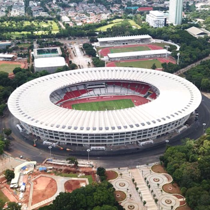 foto stadion gbk Stadion Modern Oleh PT. Datra Internusa Modern