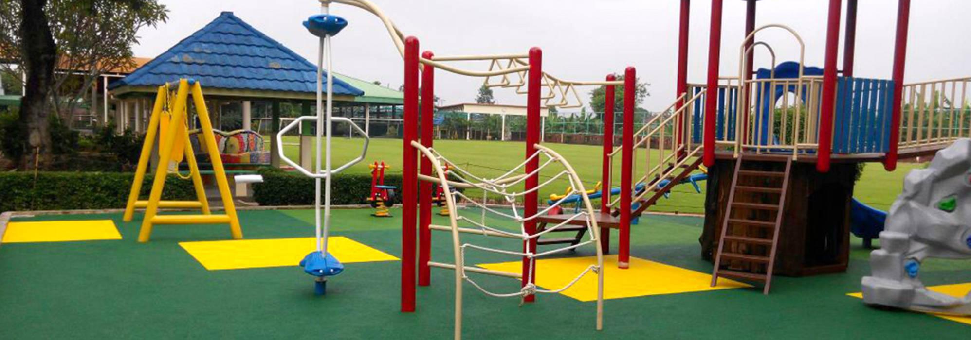 Playground Jakarta Intenational Korea School Sekolah Modern Oleh PT. Datra Internusa Modern