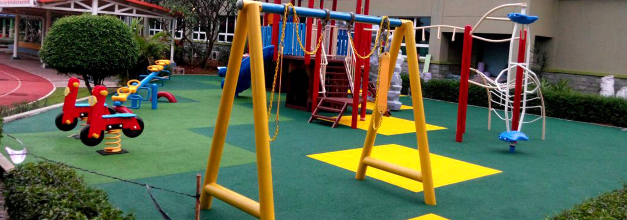 Playground Jakarta International Korea School: Sekolah oleh PT. Datra Internusa,