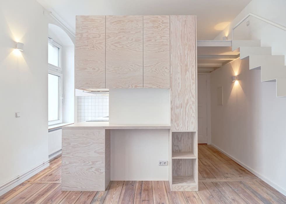 :  Study/office by NiccoloGuidantoni-homify