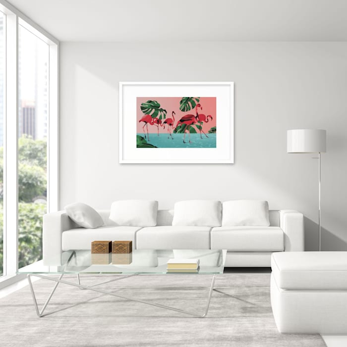 Living room by SPASIUM, Modern