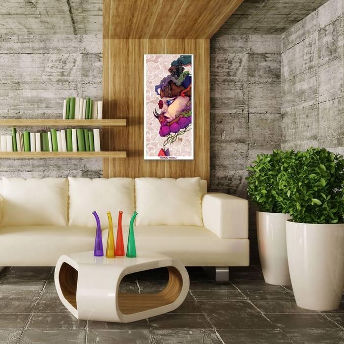Living room catalogue Moderne Wohnzimmer von SPASIUM Modern