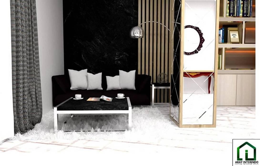 design interior living room american classic low at kota legenda cibubur Oleh Aray Interindo Klasik