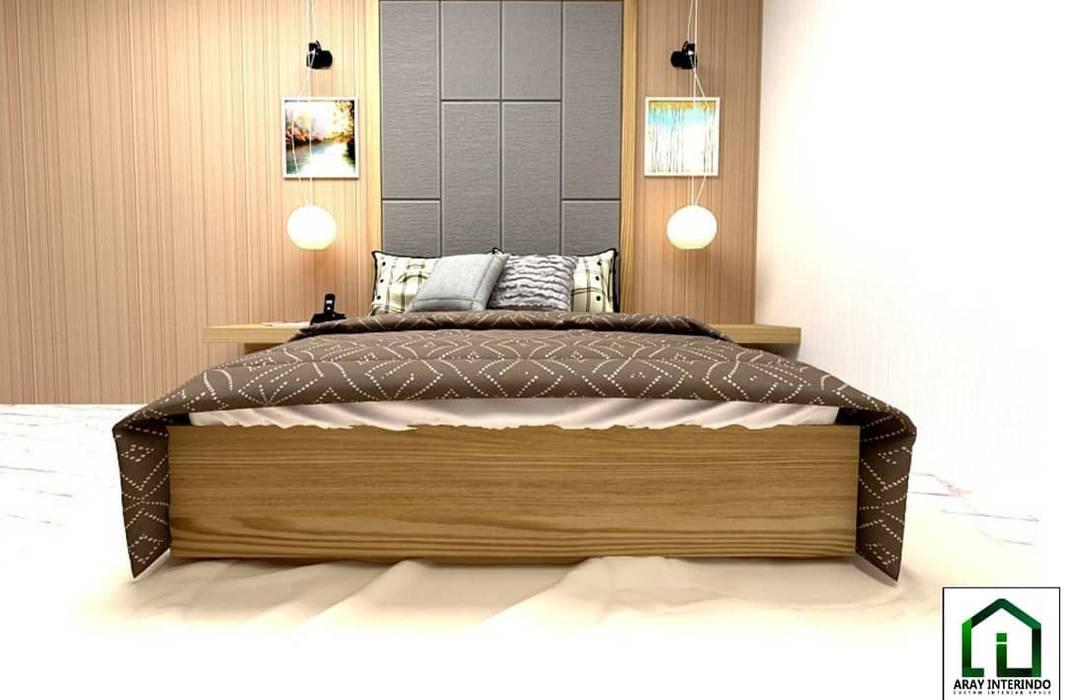 design interior bedroom 1 at kota legenda cibubur:  oleh Aray Interindo,
