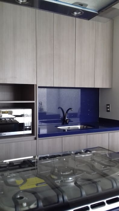 bellacocinas KitchenBench tops Plywood Blue