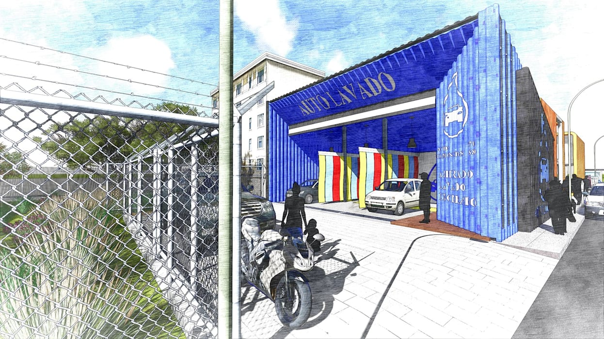 โดย Dmas Arquitectura โมเดิร์น