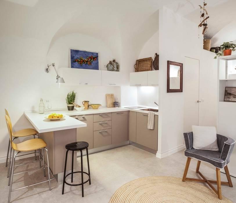cucina Costa Zanibelli associati Cucinino Legno Bianco