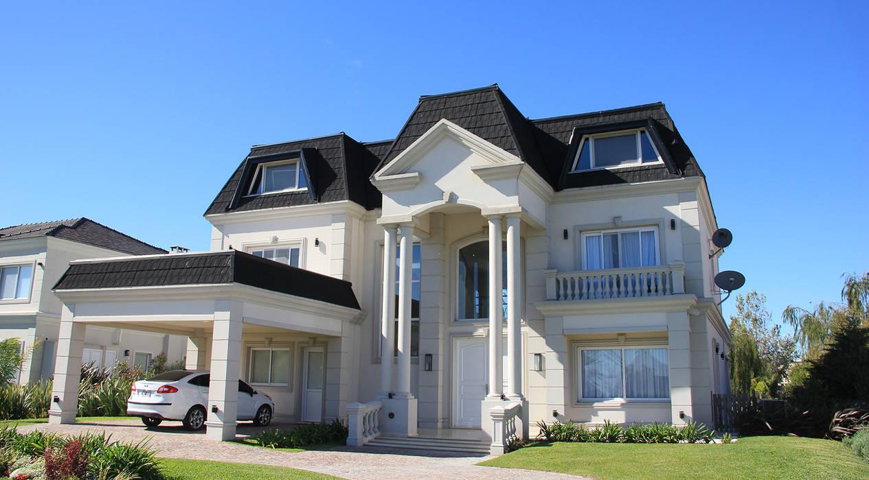 Casa San Eliseo Golf & Country Casas modernas: Ideas, imágenes y decoración de ARQCONS Arquitectura & Construcción Moderno