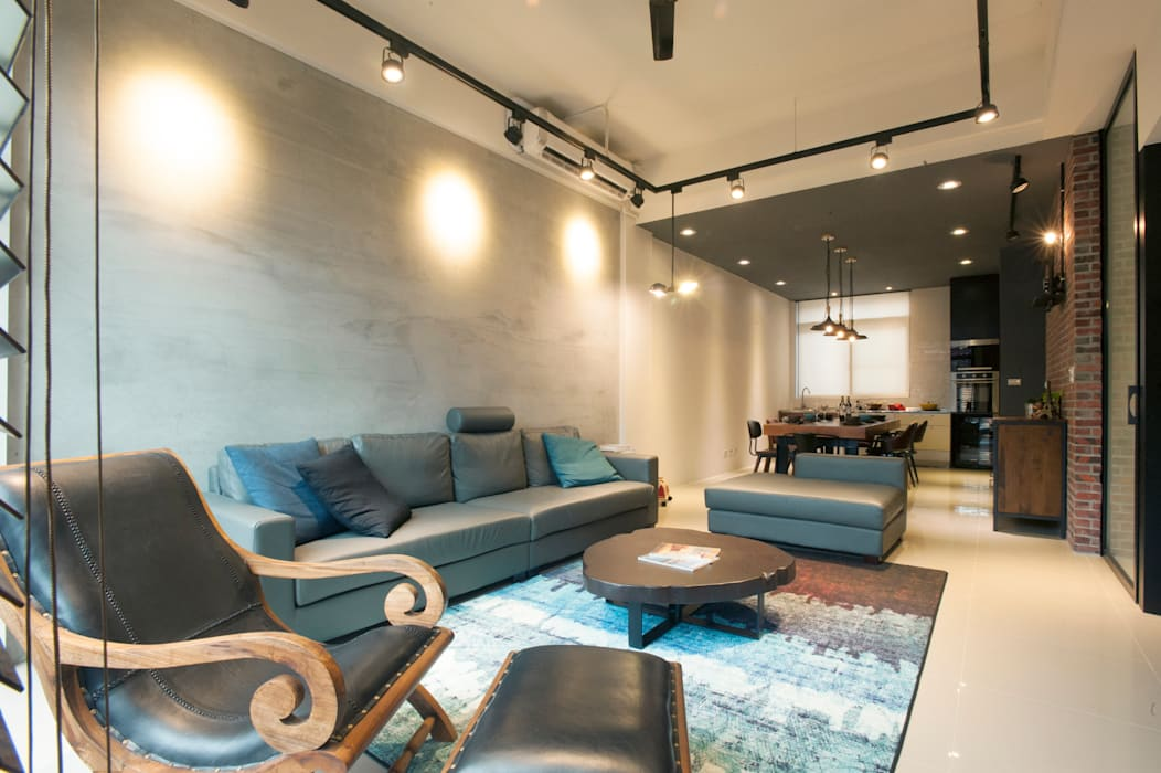 打造時尚住家 鈊楹室內裝修設計股份有限公司 客廳