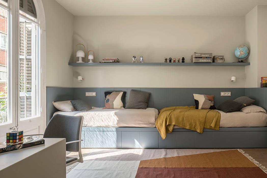 Спальни для мальчиков в . Автор – The Room Studio