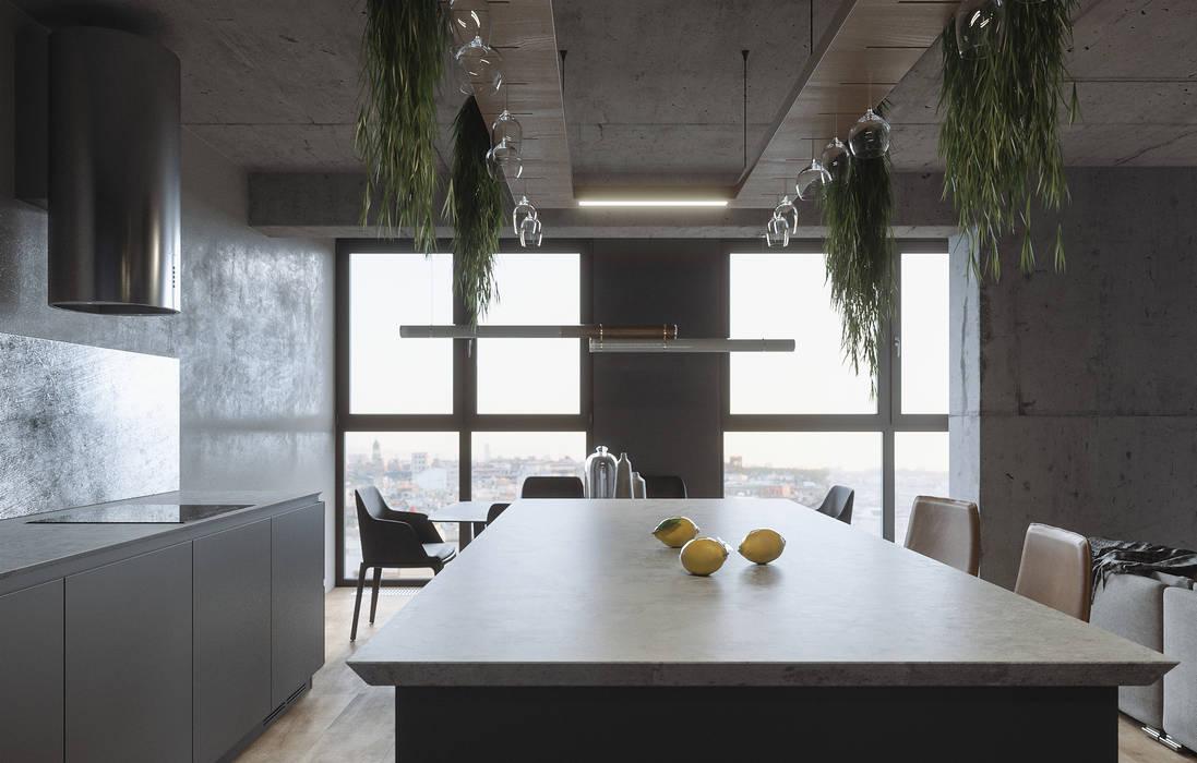 Minimalist kitchen by ANARCHY DESIGN Minimalist