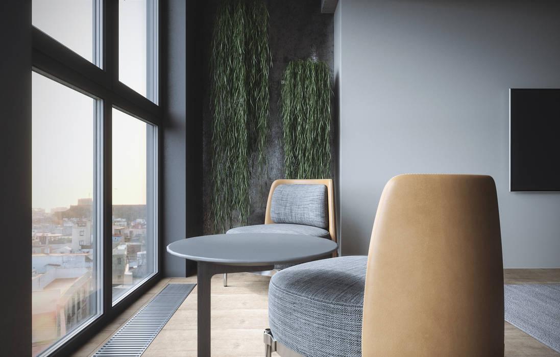 Minimalist living room by ANARCHY DESIGN Minimalist